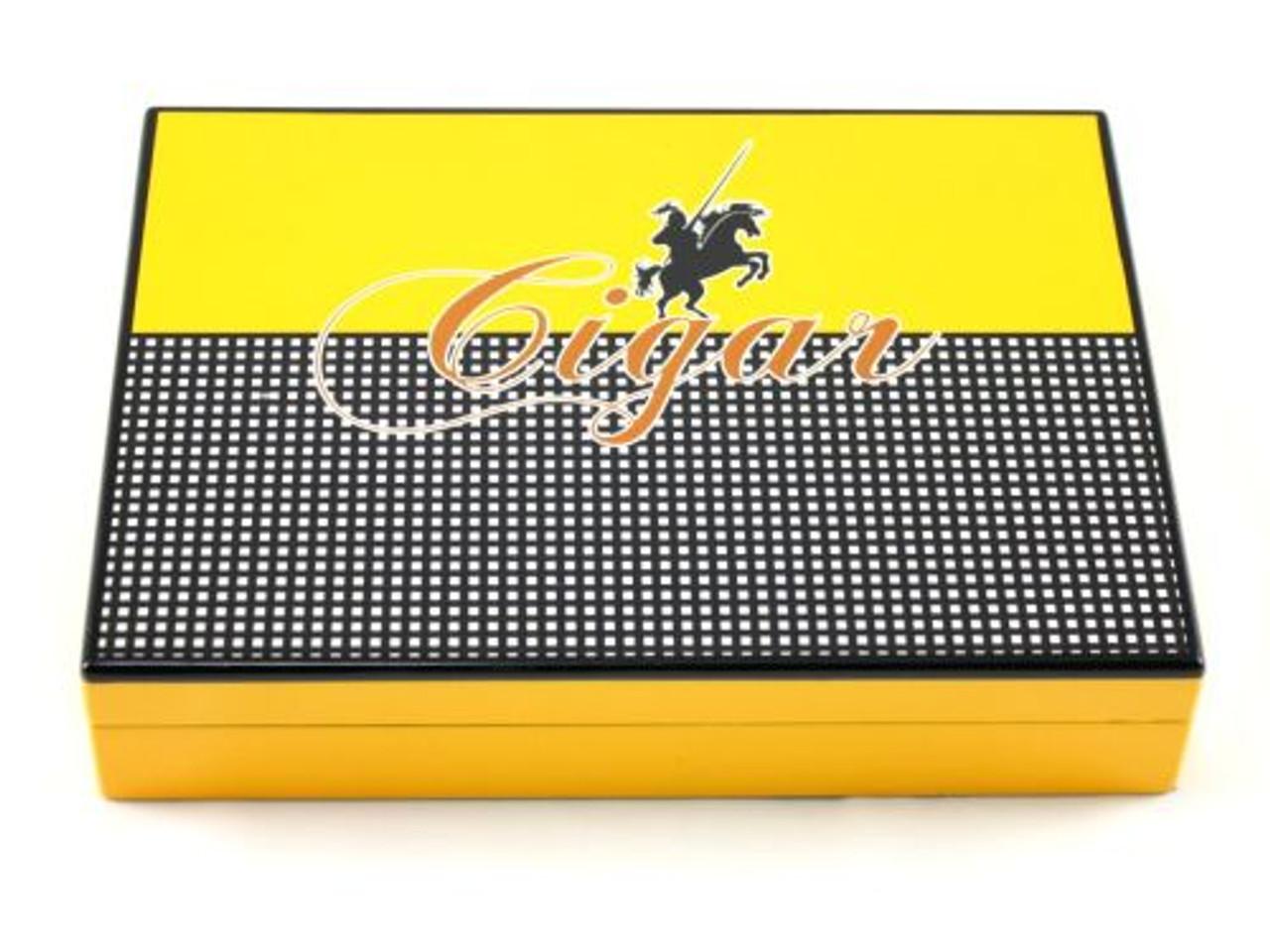 Columbo Yellow Cigar Humidor