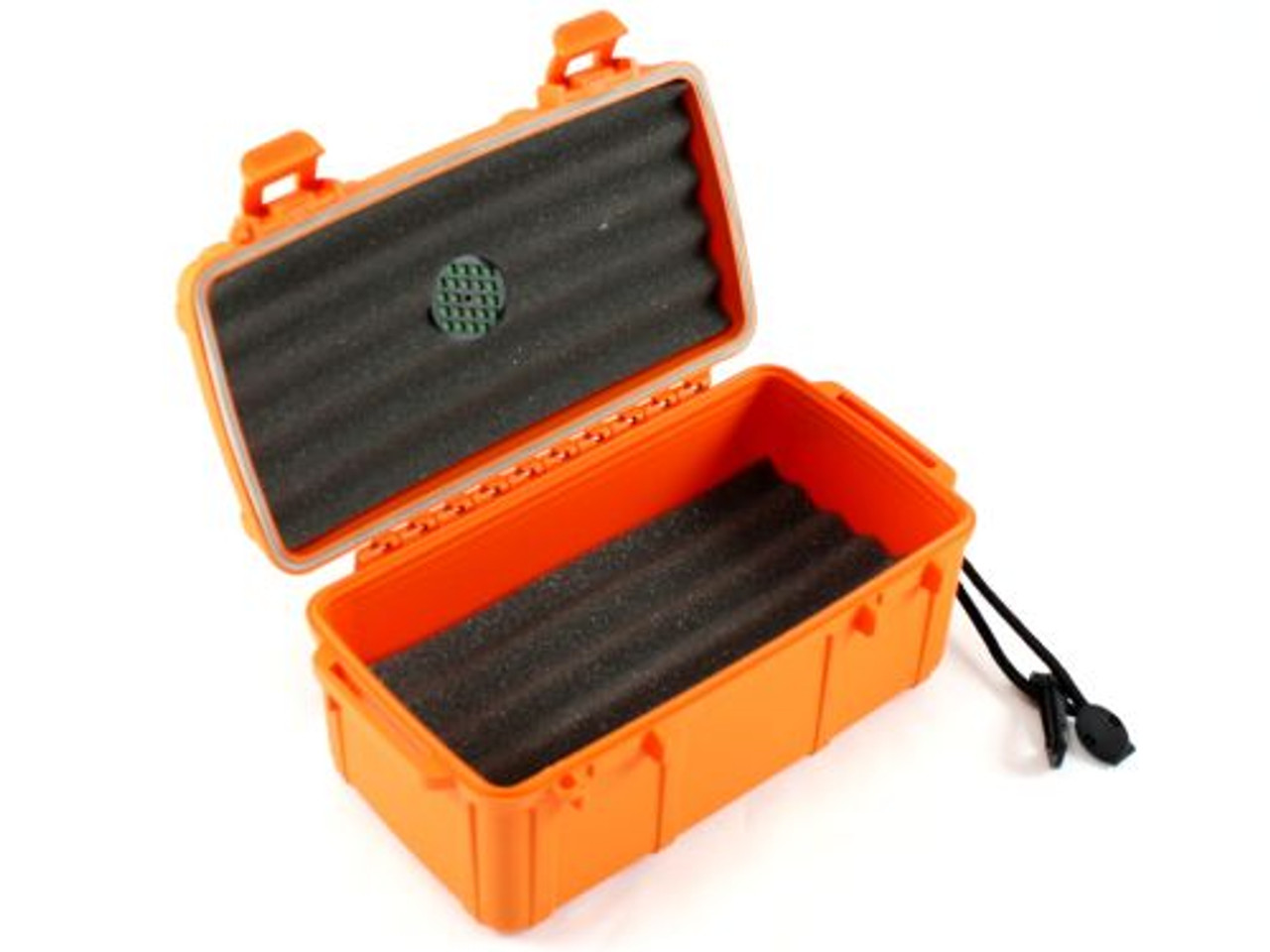 Cigar Caddy Orange 15 Stick Travel Cigar Humidor