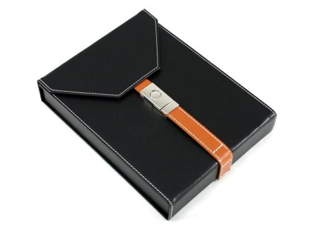Salvatore Black Travel Cigar Humidor