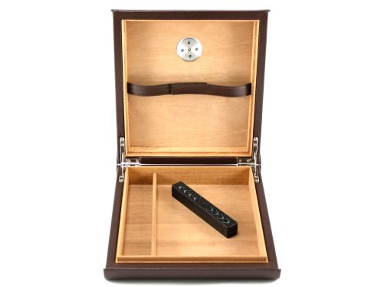 Nikkolai Brown Travel Cigar Humidor