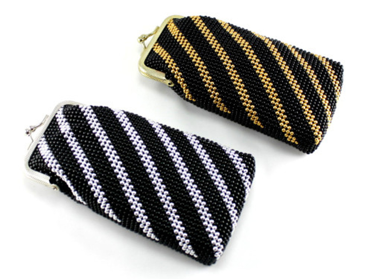 Black Stripe Cigarette Pack Holder