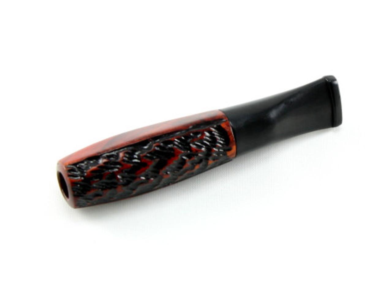 Carved Rosewood Filtered Cigarette Holder
