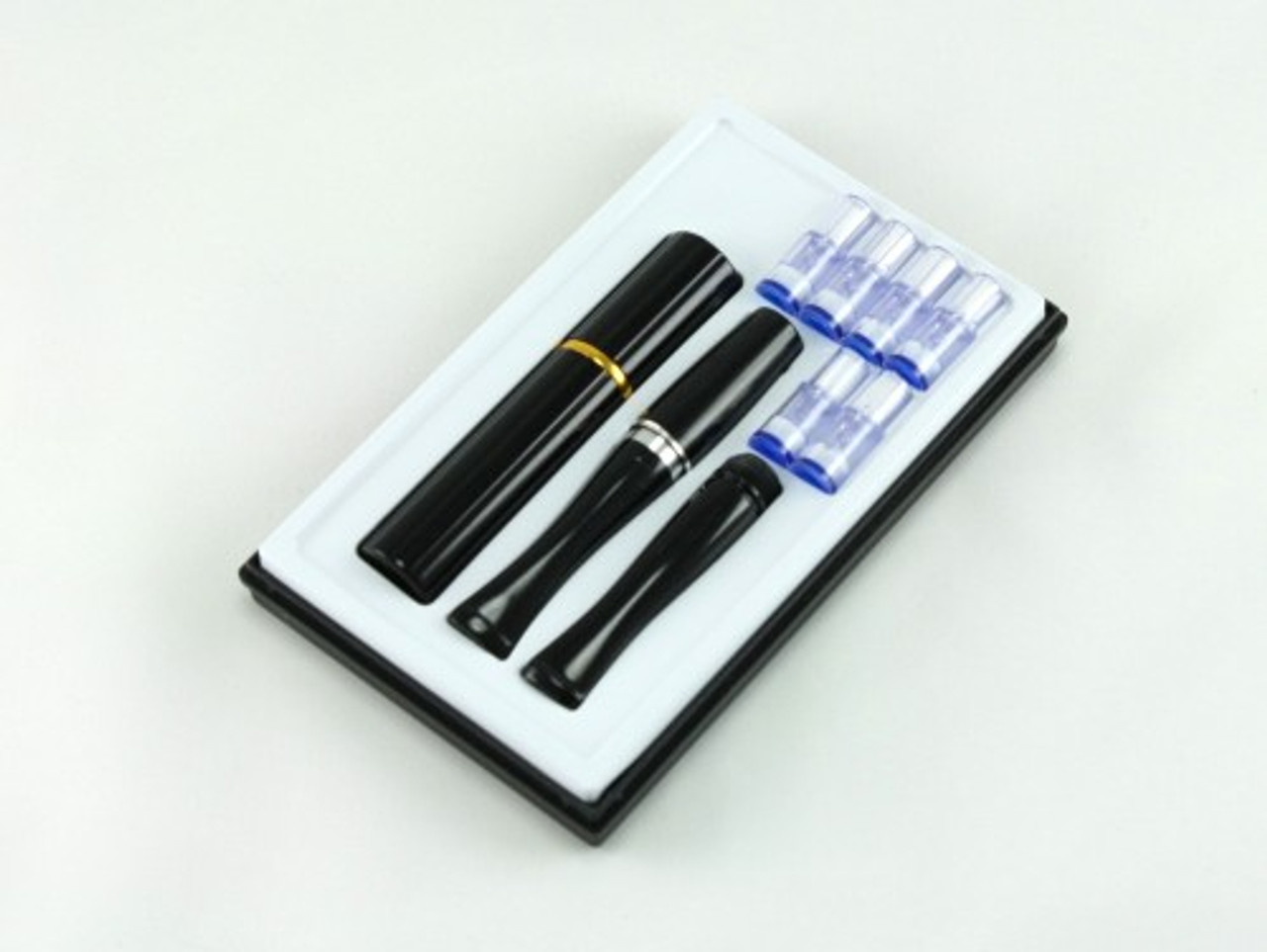 High Efficient Double Filter Cigarette Holder with Case