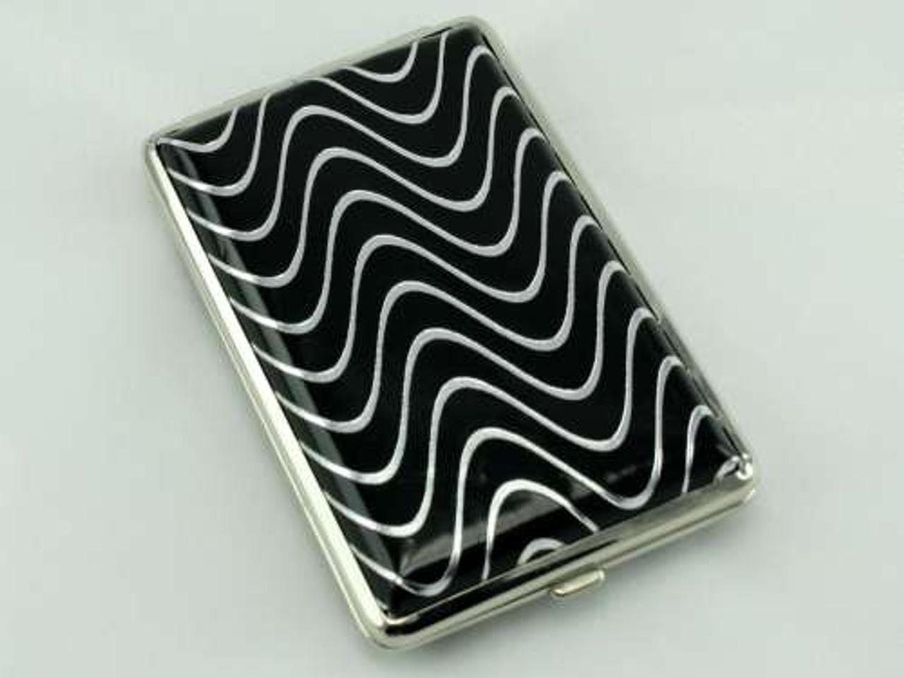 Blackened Wave Cigarette Case