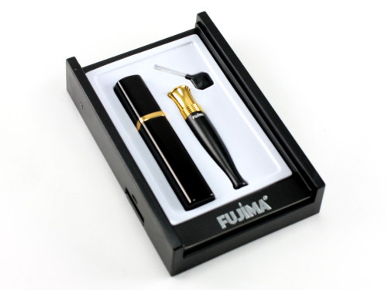 Super Cigarette Holder with Cleanable Filter and Case