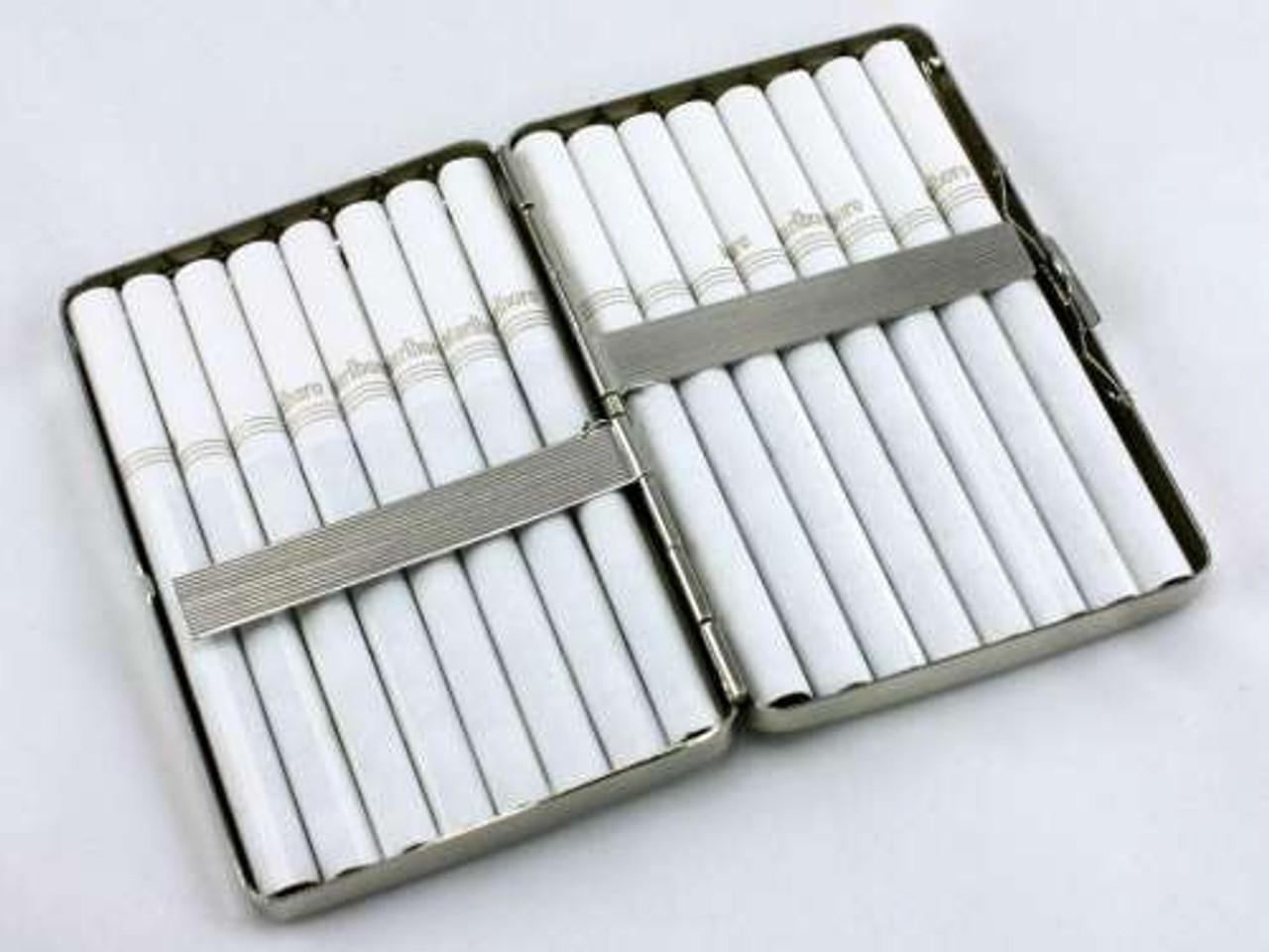 Diamond Weave Cigarette Case