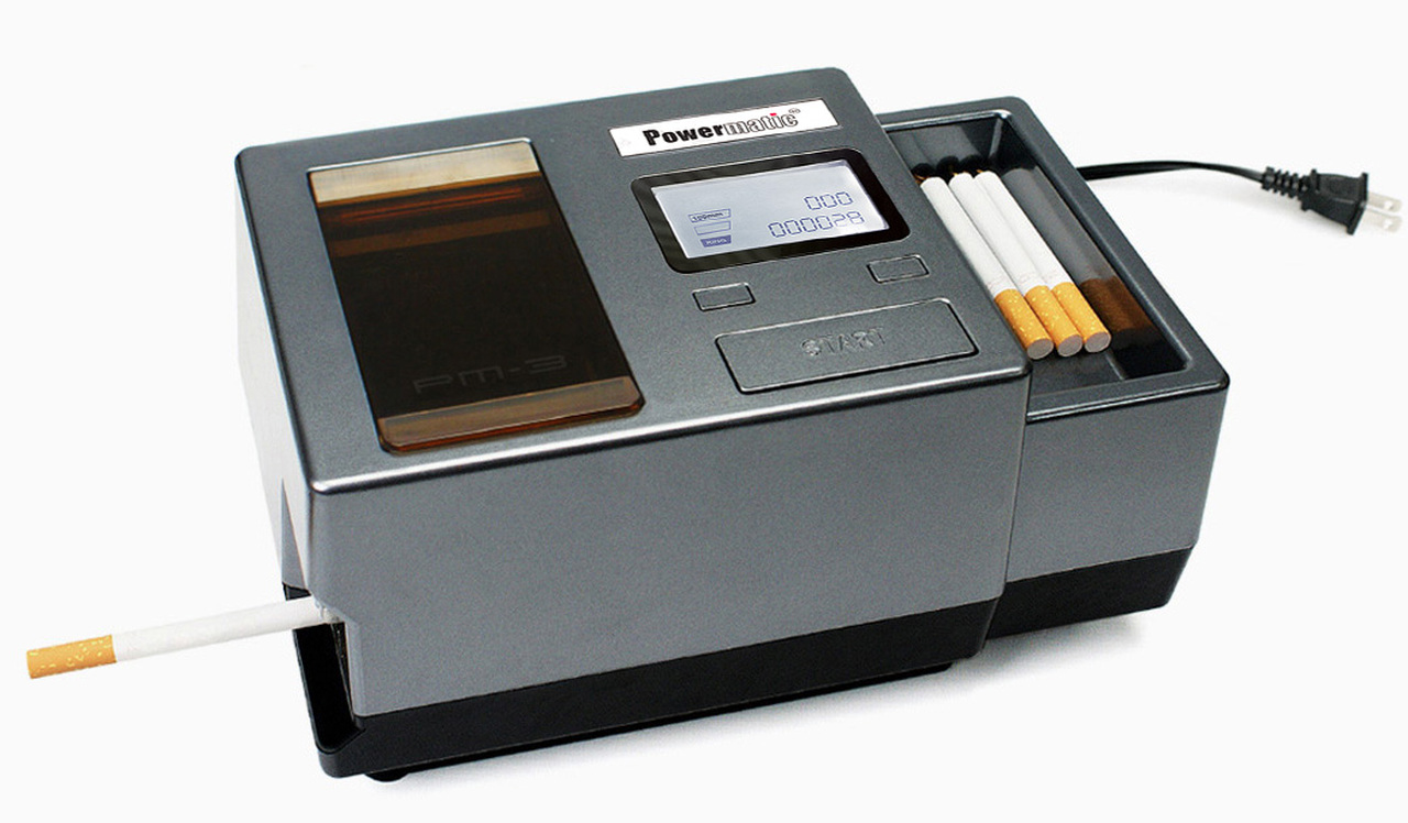 Powermatic III 3 Plus Electric Cigarette Rolling Machine Injector