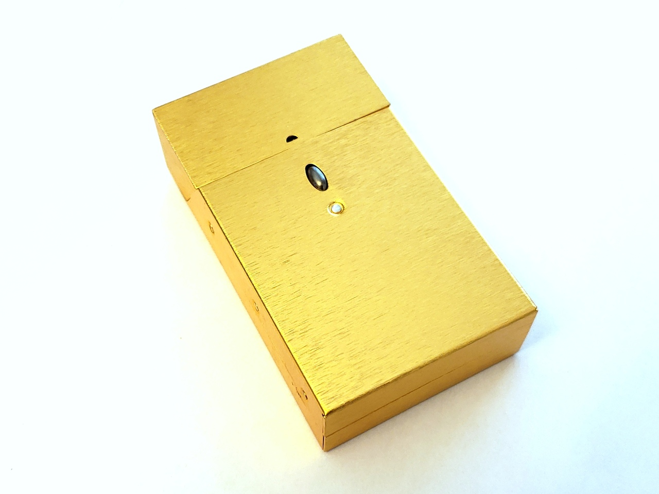 Satin Gold Cigarette Pack Holder