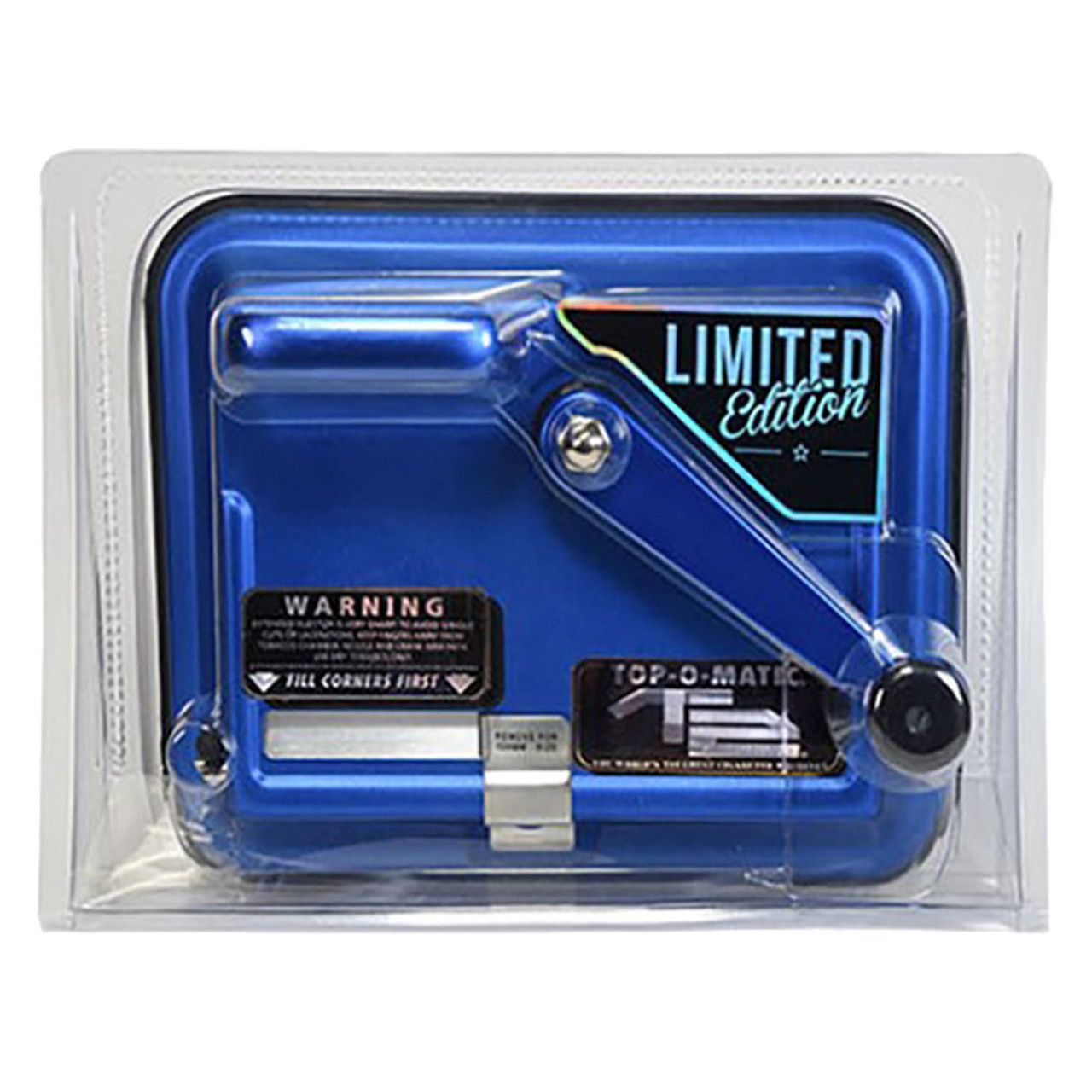 Top-O-Matic T2 Cigarette Rolling Injector Machine Limited Edition Blue