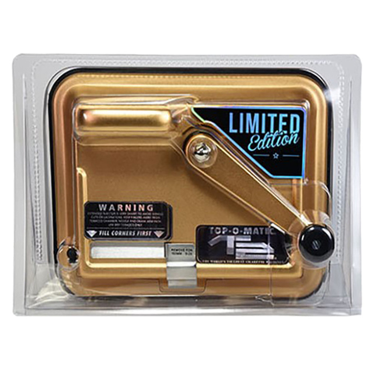 Top-O-Matic T2 Cigarette Rolling Injector Machine Limited Edition Gold