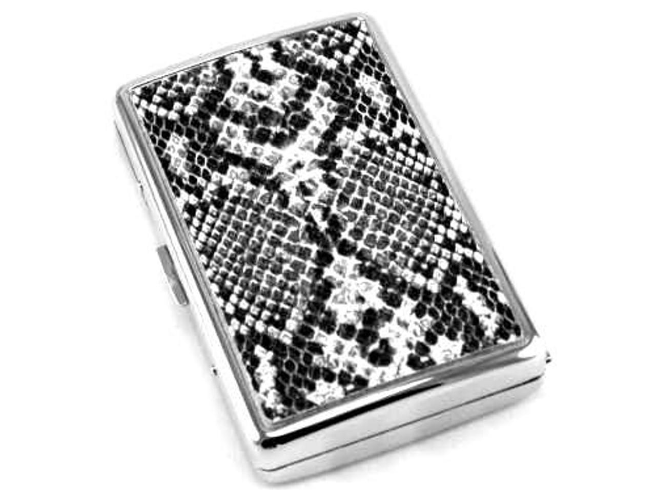 Black Python Cigarette Case