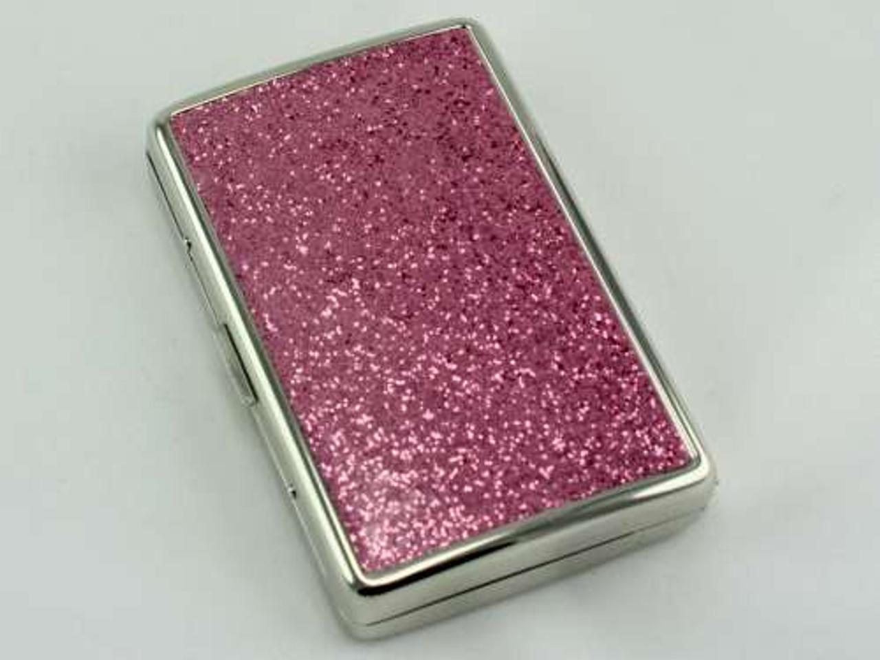 Pink Glimmer Cigarette Case