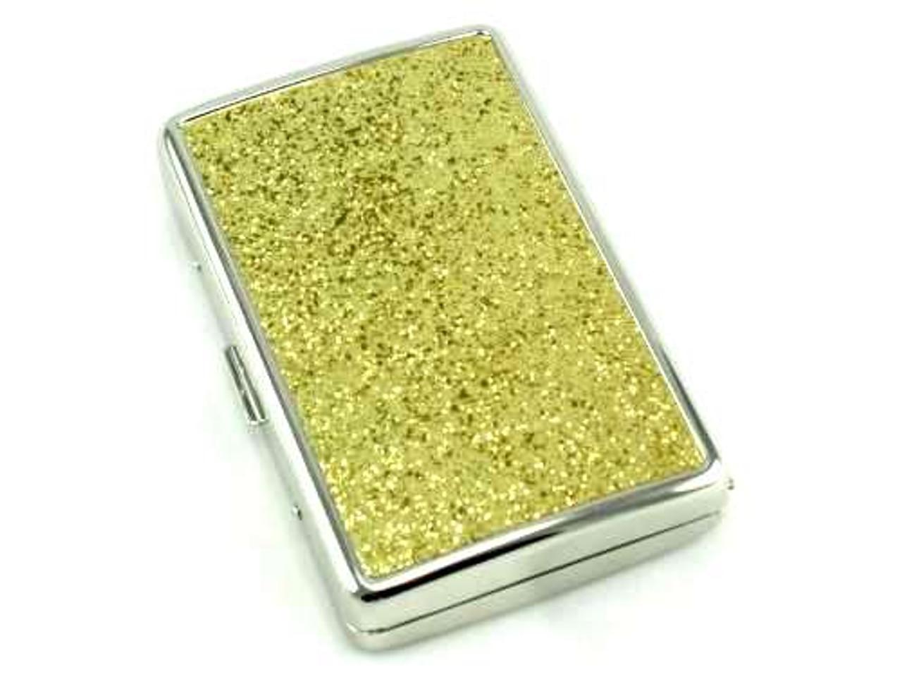 Gold Glimmer Cigarette Case