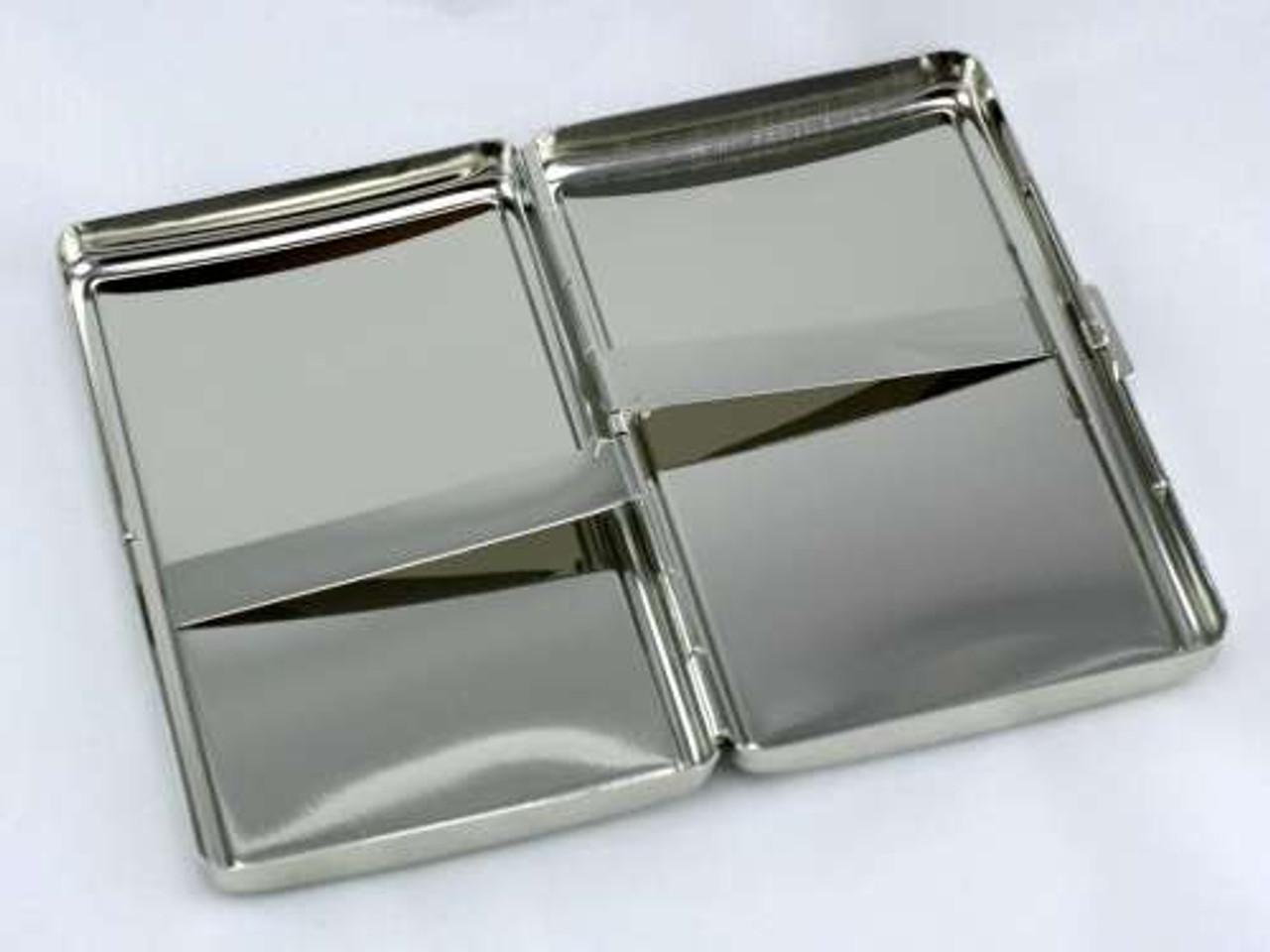 Silver Glimmer Cigarette Case