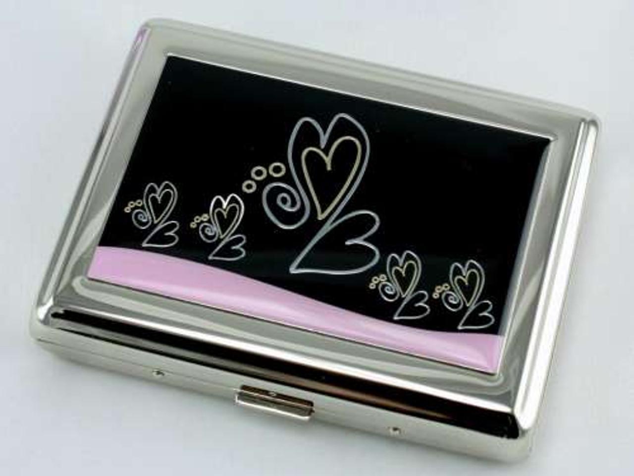 Happy Hearts Cigarette Case