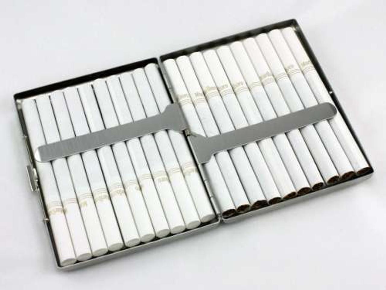 Black Mesh Cigarette Case