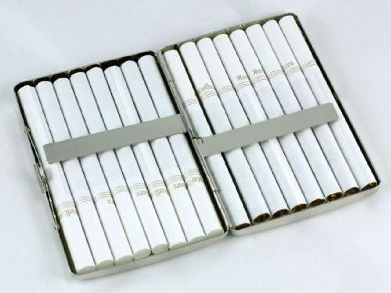 Solid Silver Cigarette Case