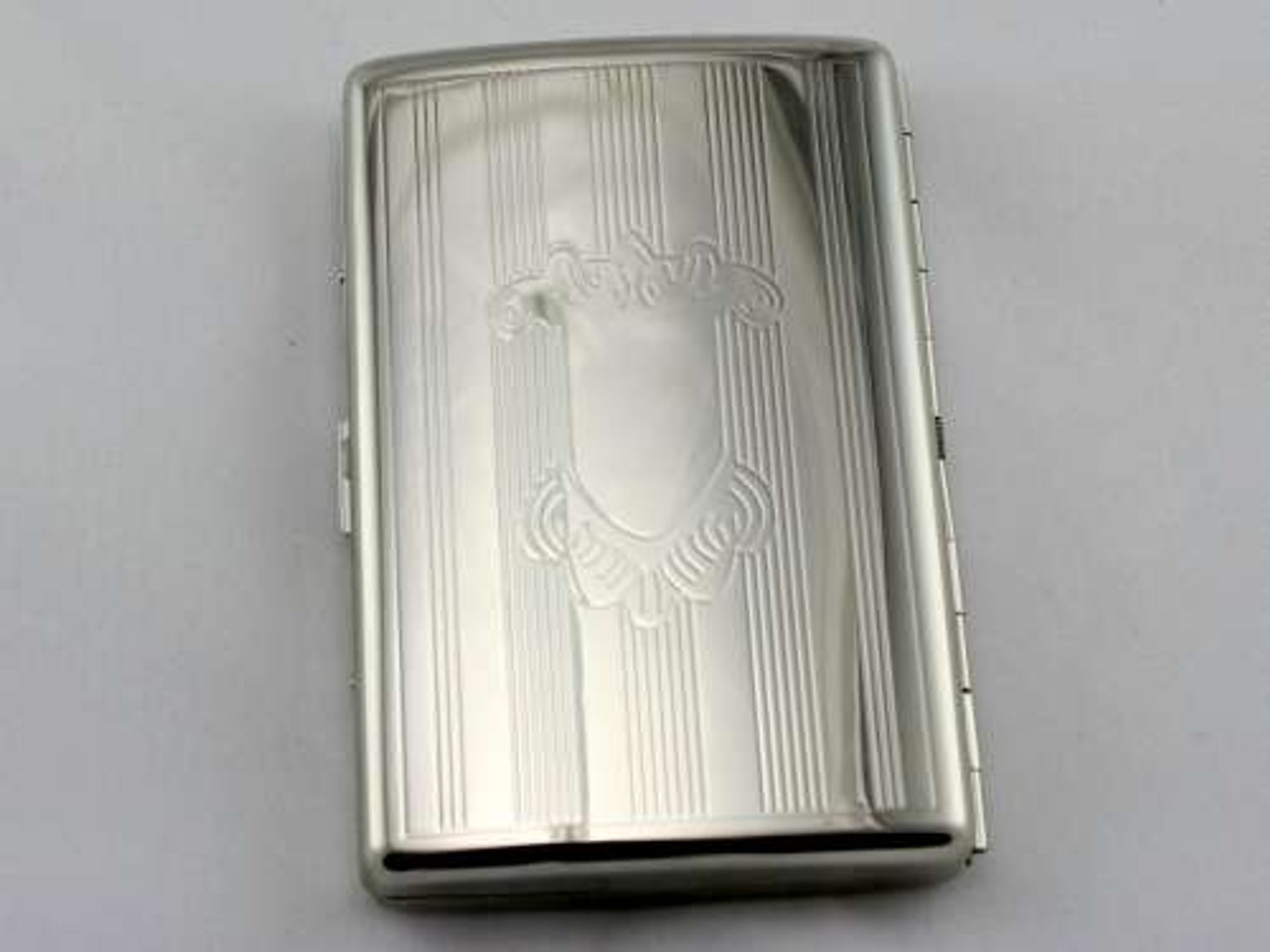 Silver Crest Cigarette Case