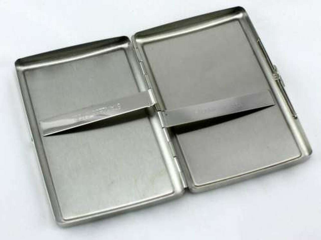 Silver Alligator Cigarette Case