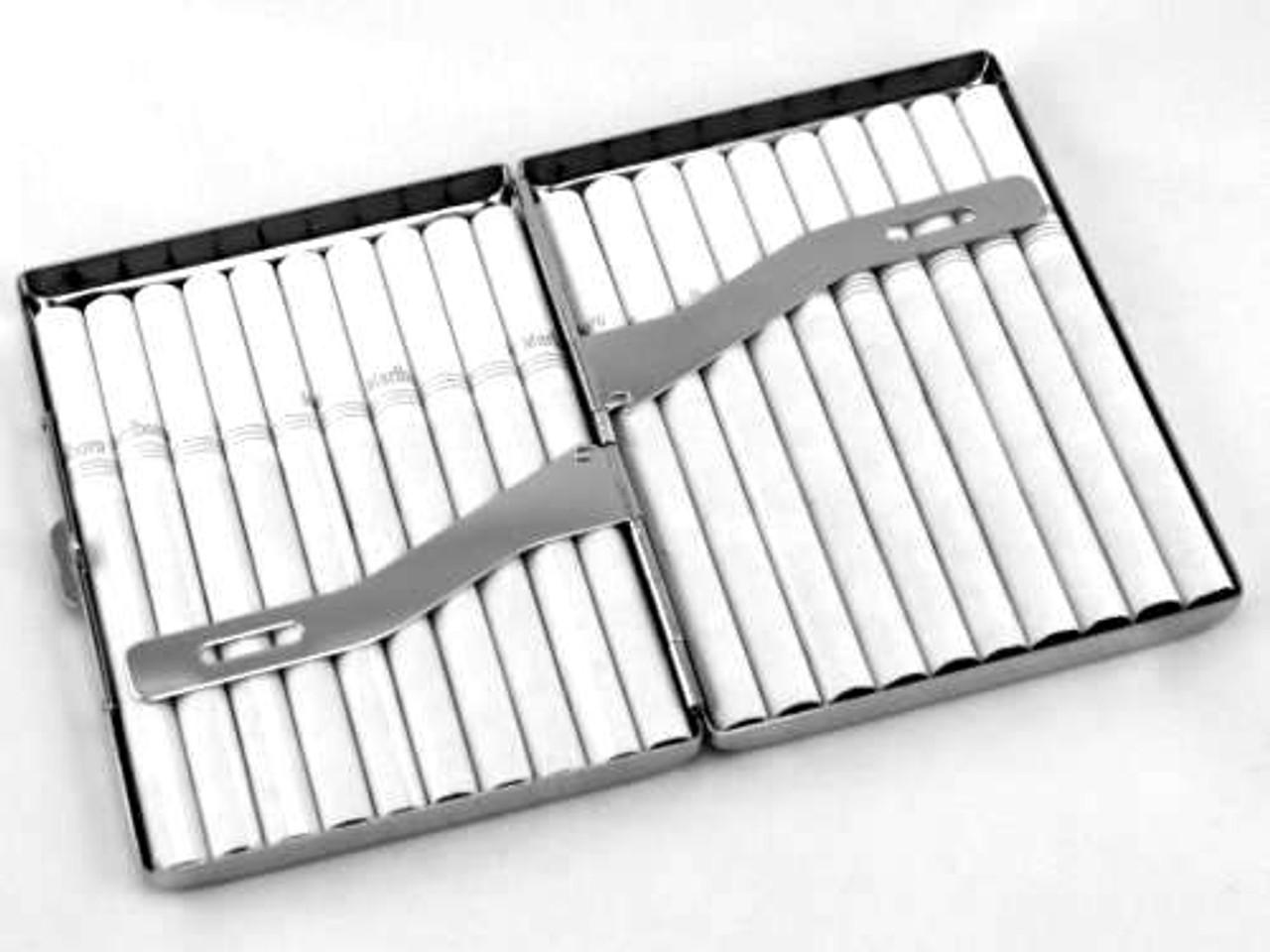 Black Oval Cigarette Case