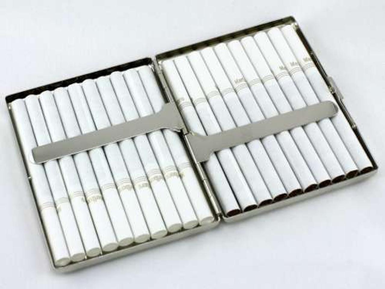 Red Crocodile Cigarette Case