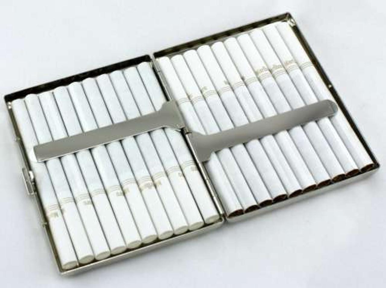 Black Crocodile Cigarette Case