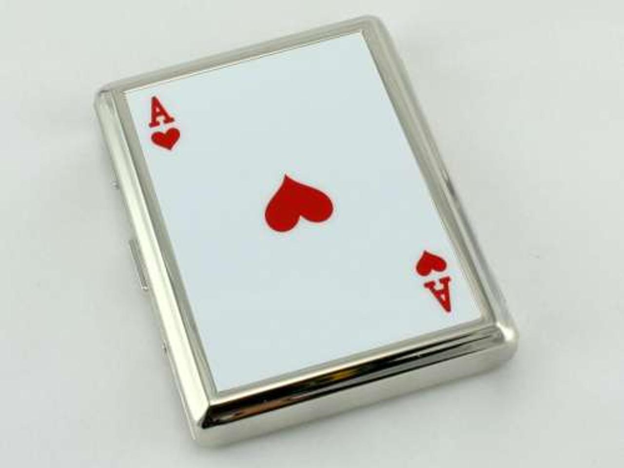 Ace of Hearts Cigarette Case