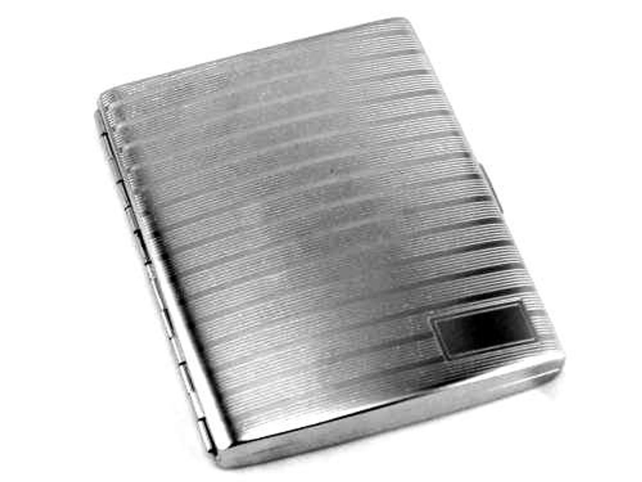 Etched Line Cigarette Case