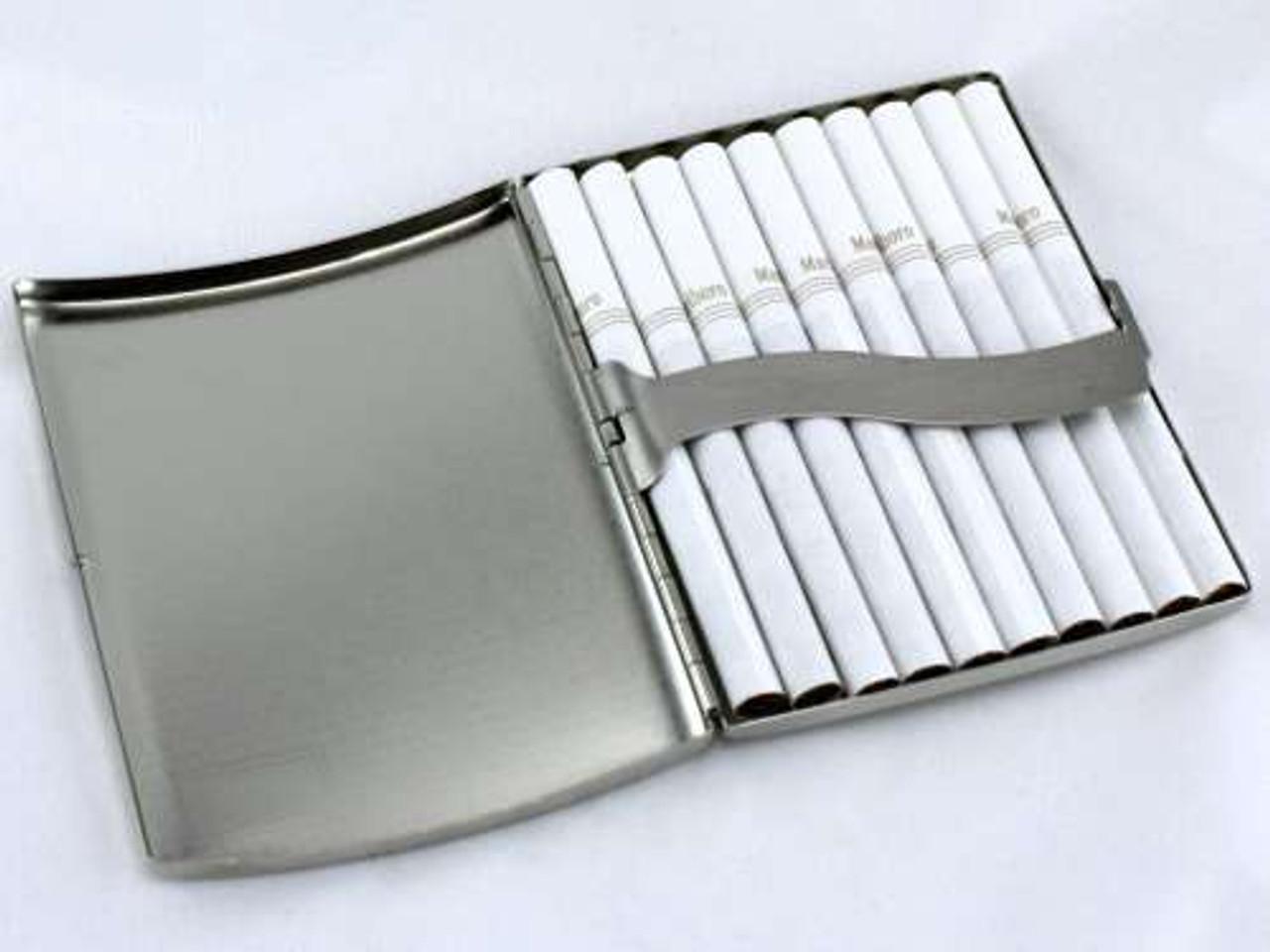 Diamond Etched Cigarette Case