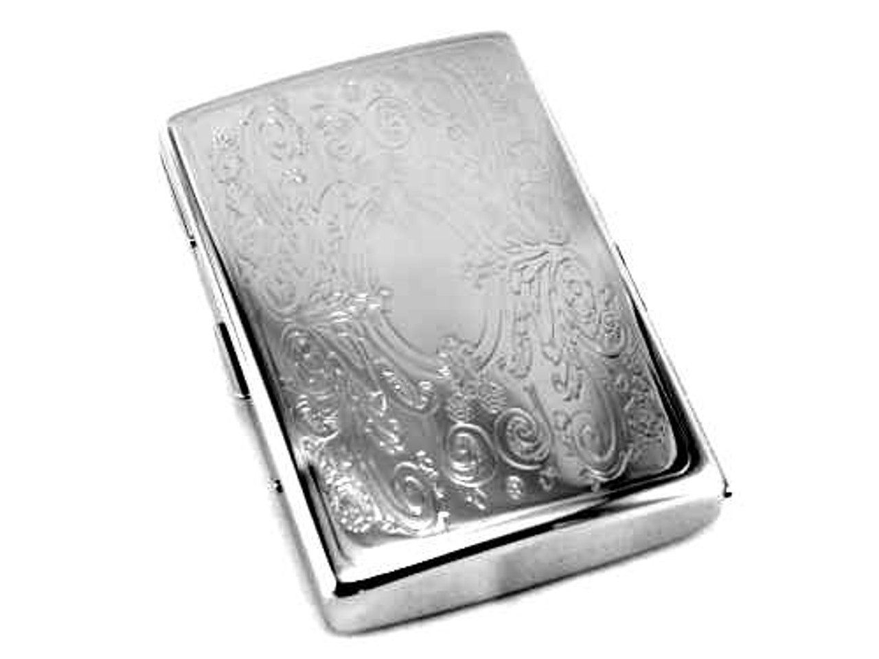 Limited Designer Floral Cigarette Case