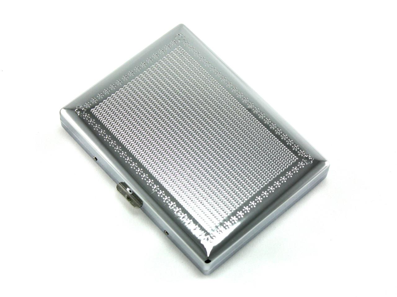 Silver Light Cigarette Case