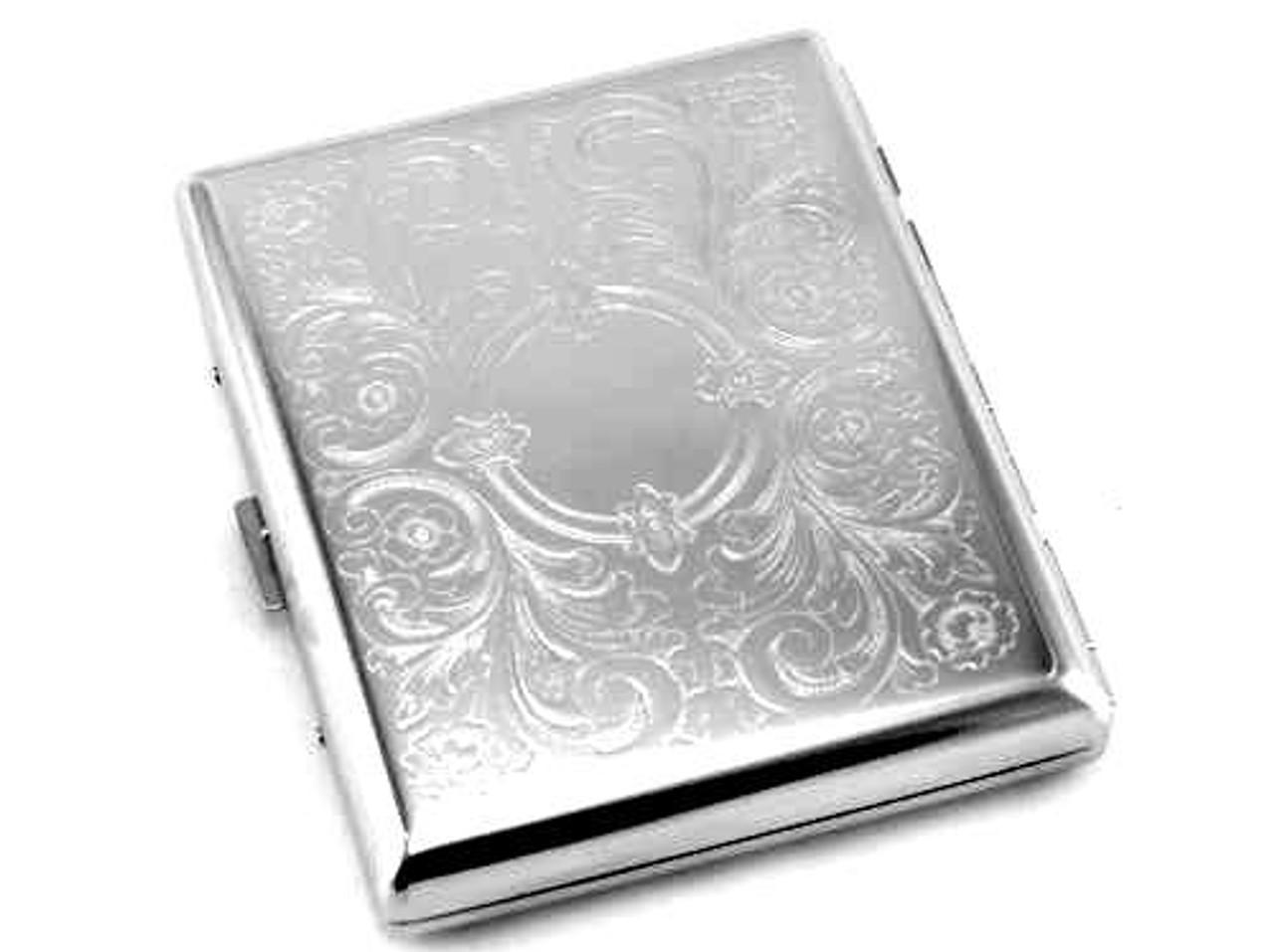 Floral Style Cigarette Case