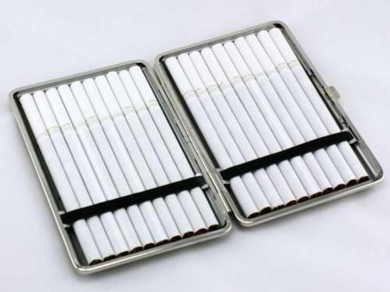 Brown Distressed Cigarette Case