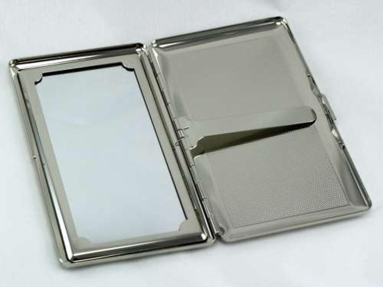 Polka Dot Mirror Cigarette Case