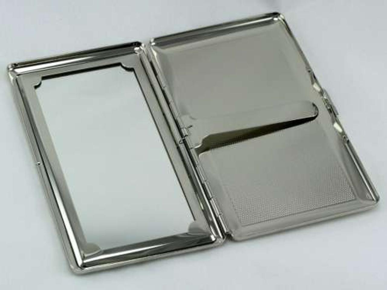 Color Burst Mirror Cigarette Case