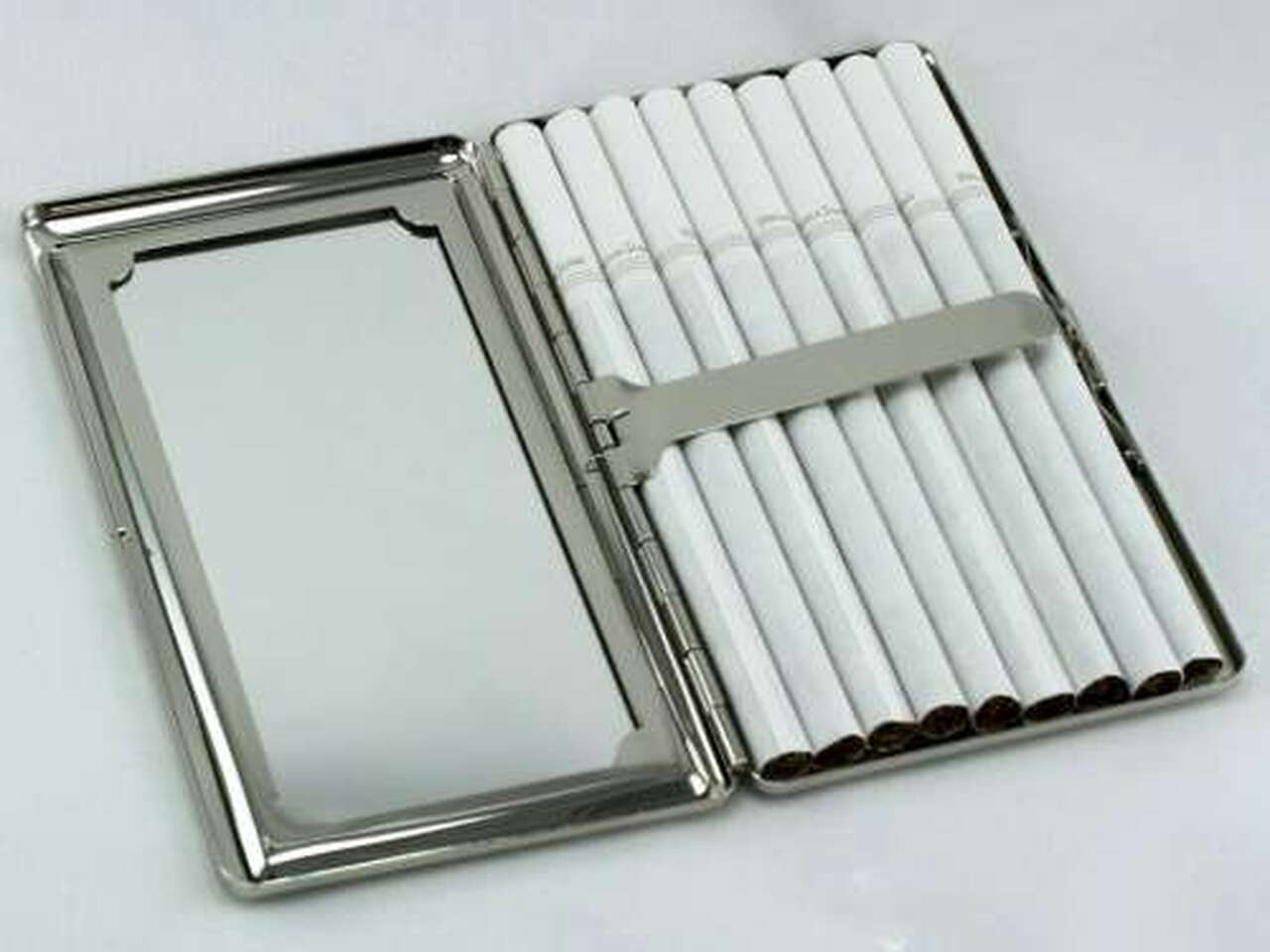 Camouflage Mirror Cigarette Case