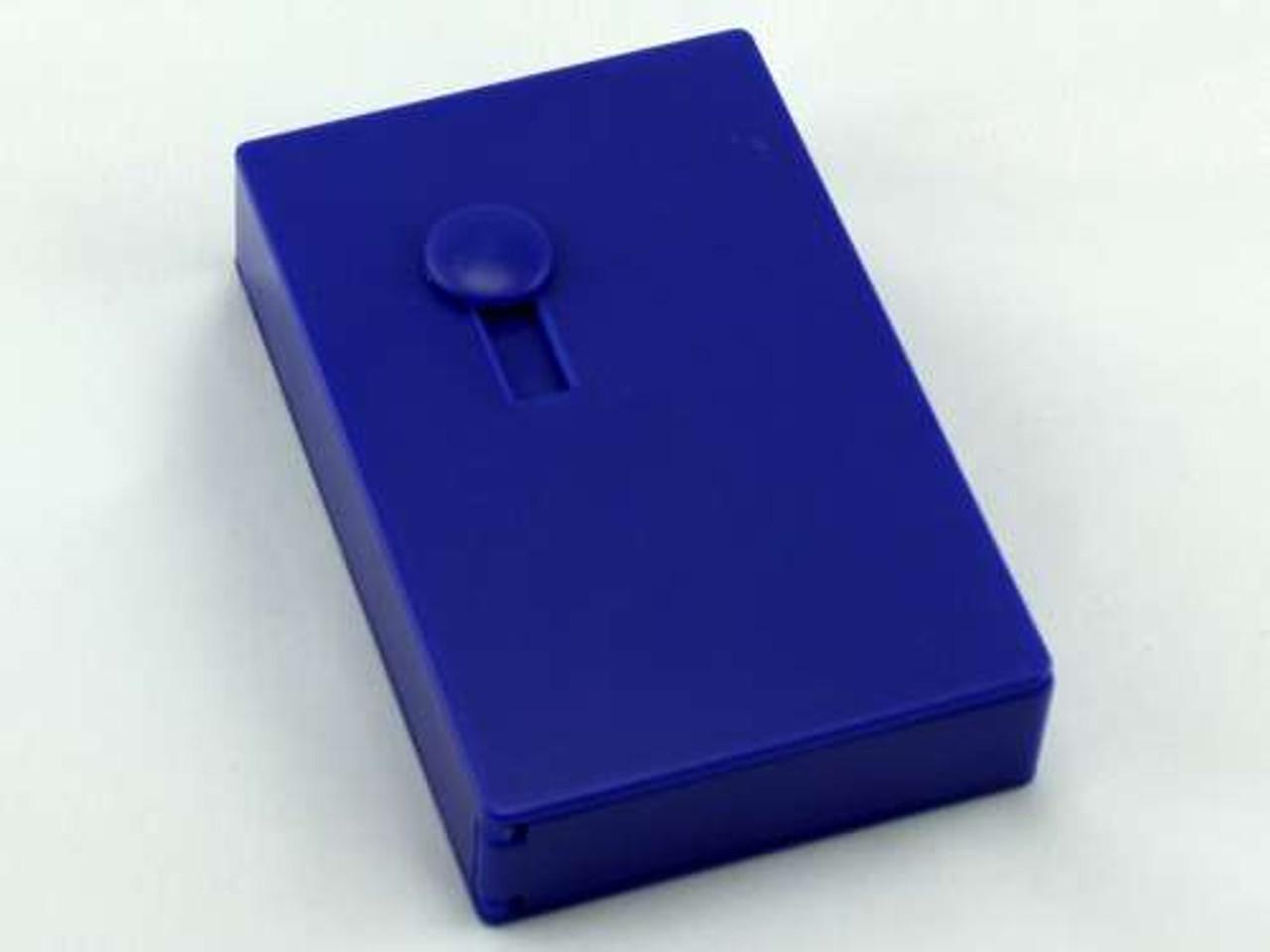 Blue Plastic Auto Dispensing Cigarette Case