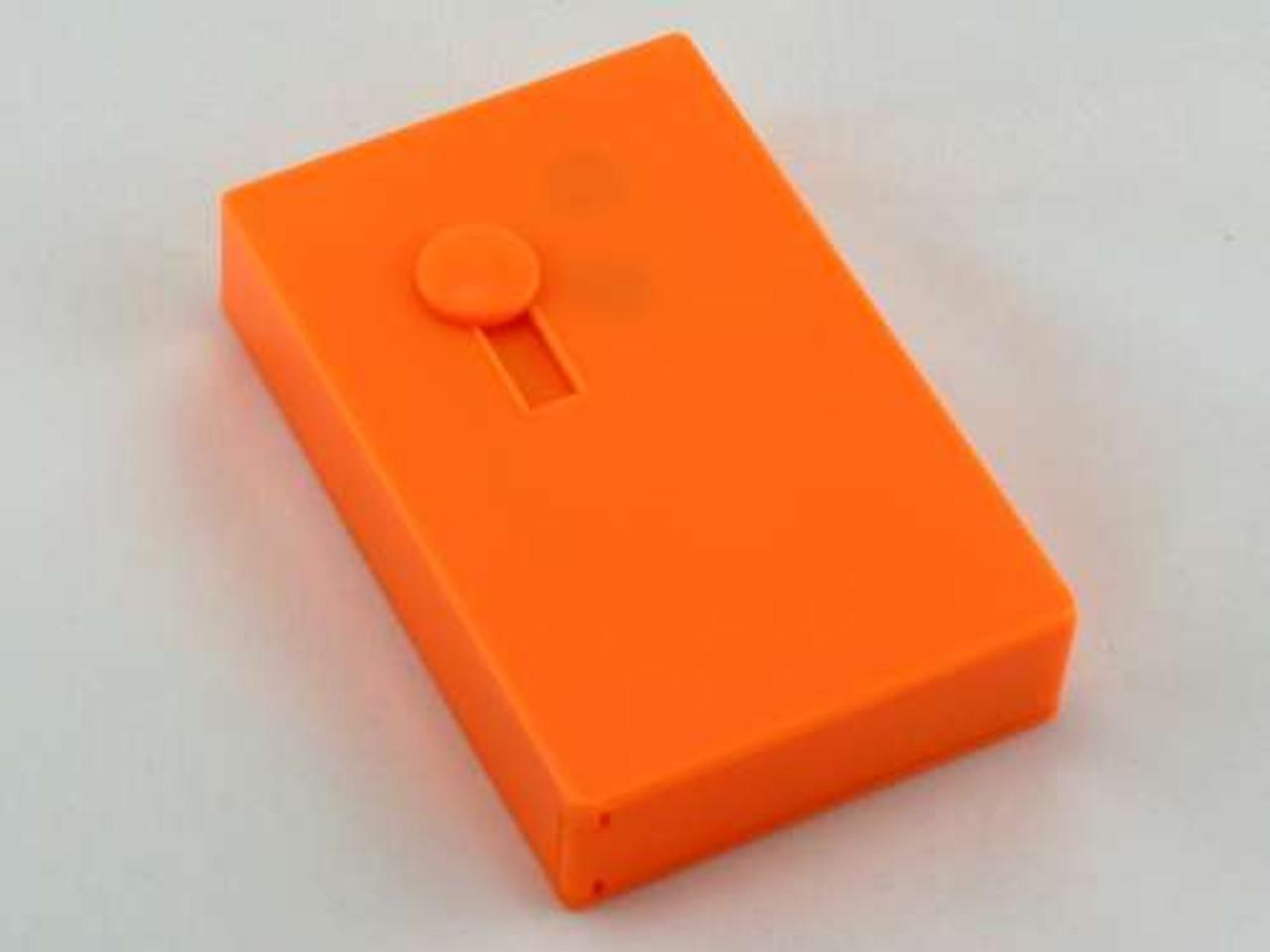Orange Plastic Auto Dispensing Cigarette Case
