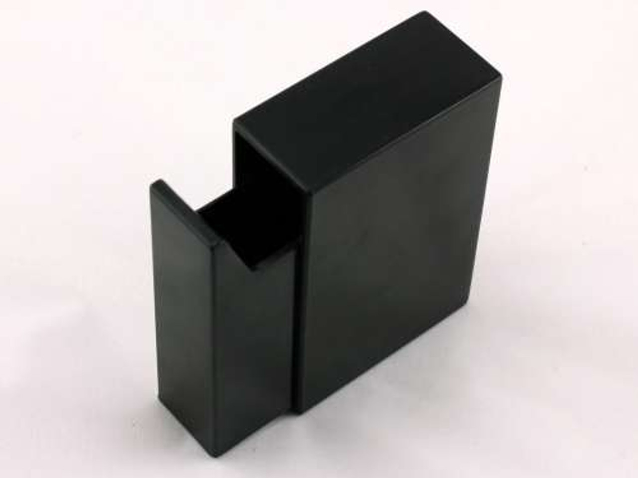 Black Slide Plastic Cigarette Case