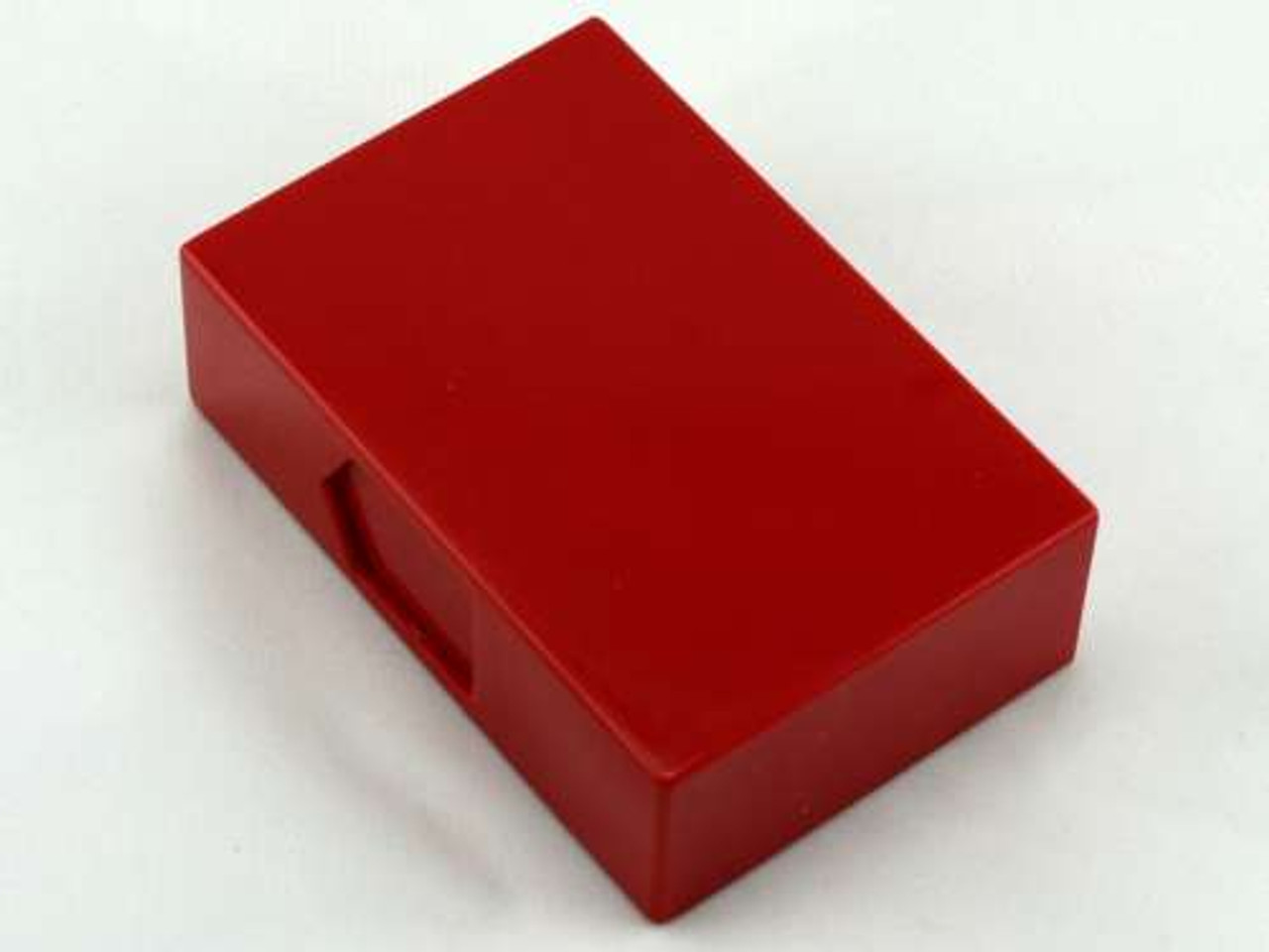 Red Slide Plastic Cigarette Case