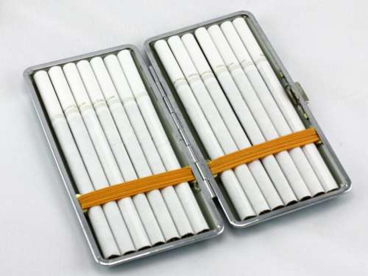 Brown Leather Cigarette Case