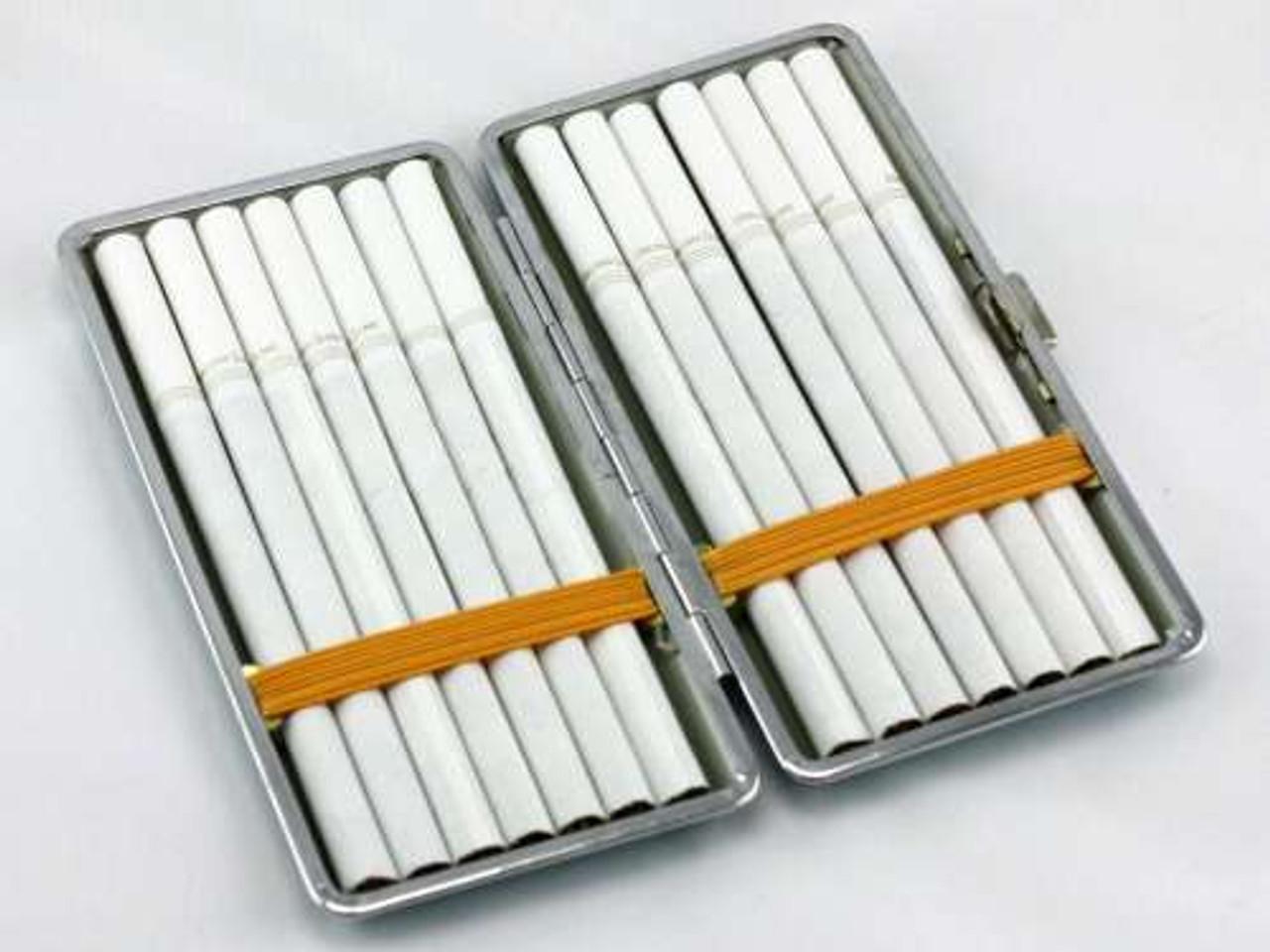 Pink Leather Cigarette Case