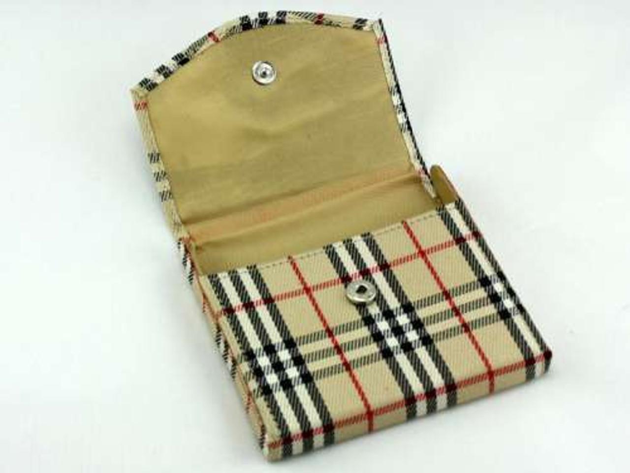 Plaid Cigarette Case