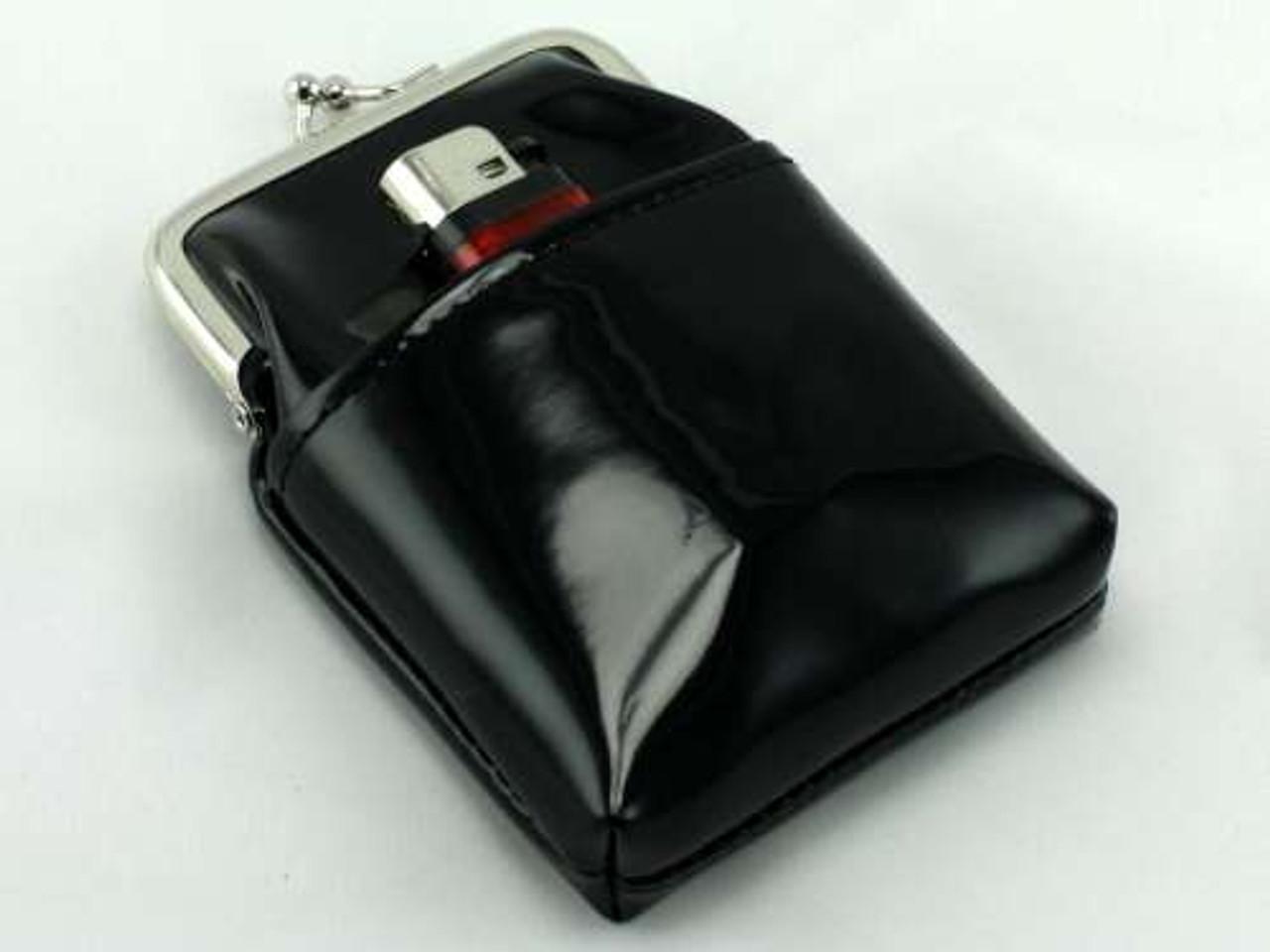 Gloss Black Cigarette Pack Holder