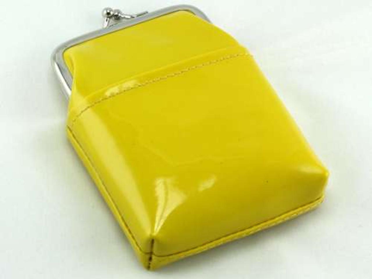 Gloss Yellow Cigarette Pack Holder