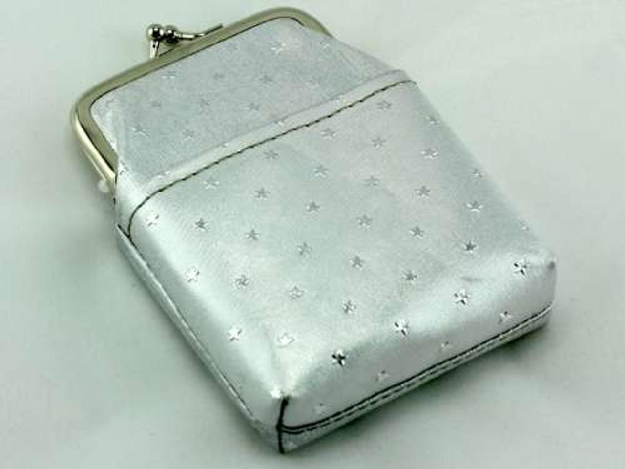 Silver Stars Cigarette Pack Holder