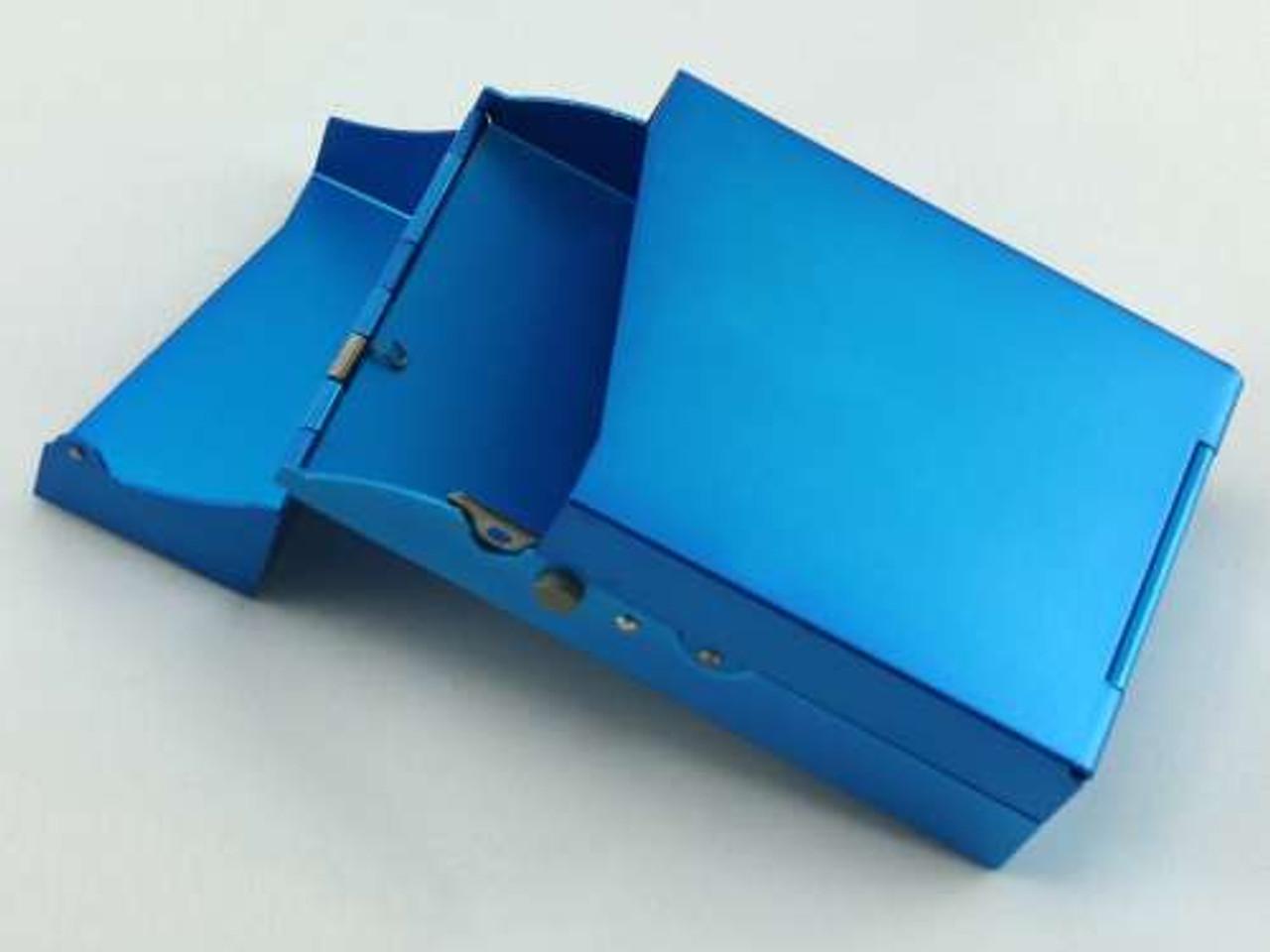 Blue Auto Cigarette Pack Holder