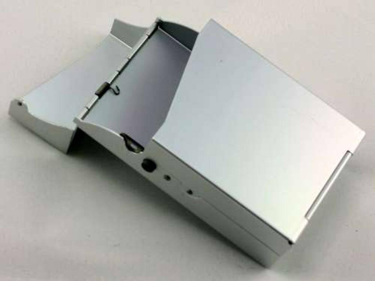 Silver Auto Cigarette Pack Holder