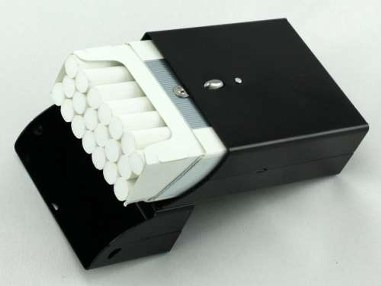 Satin Black Cigarette Pack Holder