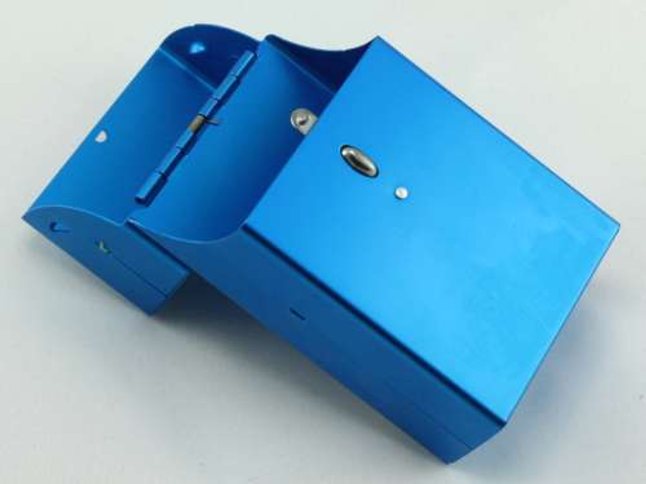 Satin Blue Cigarette Pack Holder